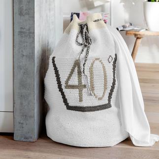 Anleitung 029/8, Wäschesack aus Basic-Cotton von Junghans-Wolle