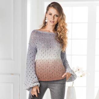 Anleitung 041/8, Damenpullover aus Pastellico von Junghans-Wolle
