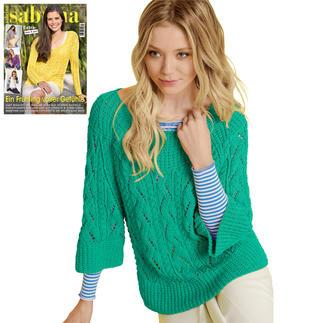 Anleitung 061/8, Damen Pullover aus Cotonara von Junghans-Wolle