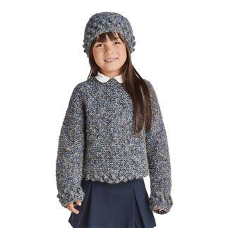 Anleitung 139/8, Pullover mit Mütze aus Pallida von Junghans-Wolle