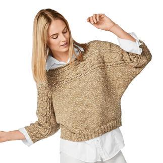 Anleitung 173/8, Damen Pullover aus Ofelia von Junghans-Wolle