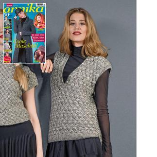 Anleitung 197/8, Damenpullunder aus Alpaca-Cotton von Junghans-Wolle
