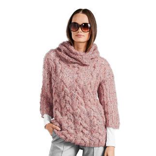 Anleitung 208/8, Damen Pullover aus Träumerei® von Junghans-Wolle