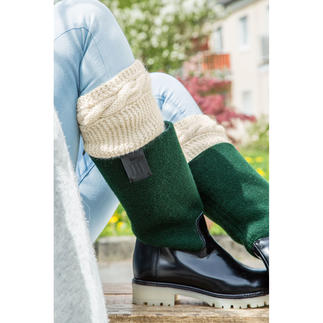 Anleitung 248/8 A, Stiefel-Manschetten aus Peru von Junghans-Wolle