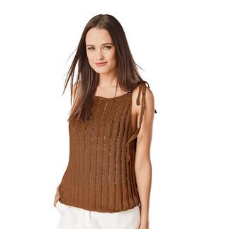 Anleitung 256/8, Damentop aus Cottonprima von Junghans-Wolle