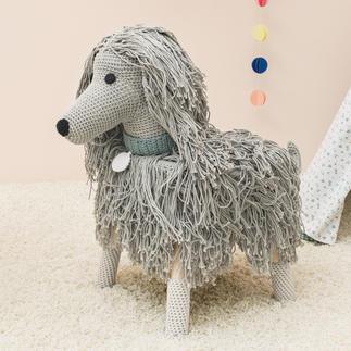"""Anleitung 345/8, Husse """"Afghanischer Windhund"""" aus Creative Cotton aran von Rico Design"""