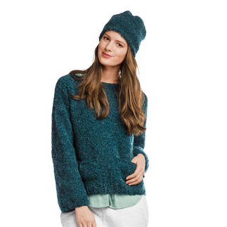 Anleitung 356/8, Pullover mit Mütze aus Nordland® von Junghans-Wolle