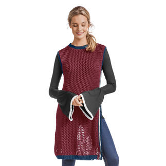 Anleitung 384/8, Tunika aus Merino-Cotton von Junghans-Wolle