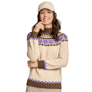 Anleitung 143/9, Pullover aus Peru von Junghans-Wolle