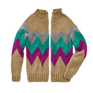 Anleitung 253/9, Pullover aus Monello-90 Uni von Junghans-Wolle
