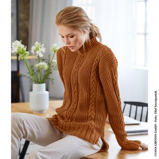 Anleitung 278/9, Pullover aus Cool Wool Big Mélange von Lana Grossa