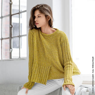 Anleitung 280/9, Pullover aus Mary's Tweed von Lana Grossa