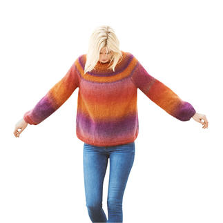 Anleitung 297/9,  Pullover, 2-fädig aus Essentials Super Kid Mohair Loves Silk Print von Rico Design