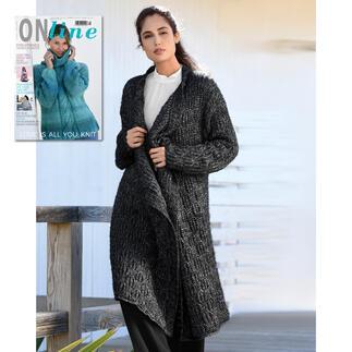 Anleitung 318/9, Mantel aus Linie 447 Viscorino Soft von ONline