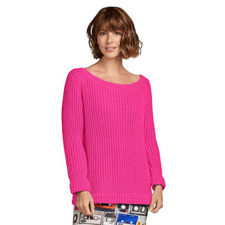 Anleitung 357/9, Pullover aus Merino-Cotton von Junghans-Wolle