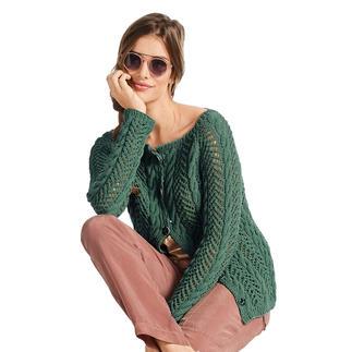 Anleitung 001/0, Jacke aus Ribolli von Junghans-Wolle