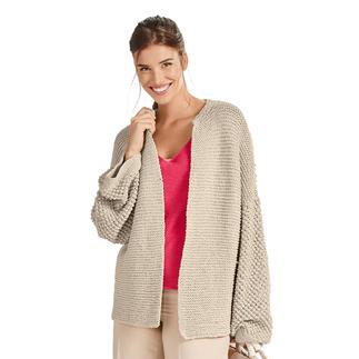 Anleitung 004/0, Jacke aus Cottonprima von Junghans-Wolle