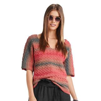 Anleitung 006/0, Damen Pullover aus Pinta von Junghans-Wolle