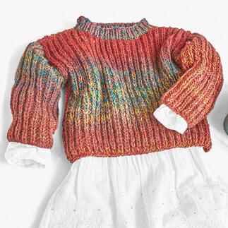 Anleitung 083/0, Pullover, 2-fädig aus Monello-175 Color von Junghans-Wolle