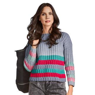 Anleitung 160/0, Pullover aus Pastellico von Junghans-Wolle