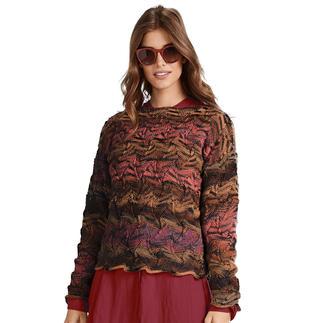 Anleitung 175/0, Pullover, 2-fädig aus Weekend-Stripes von Junghans-Wolle