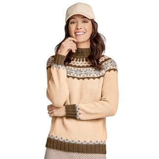 Anleitung 397/0, Pullover aus Peru von Junghans-Wolle