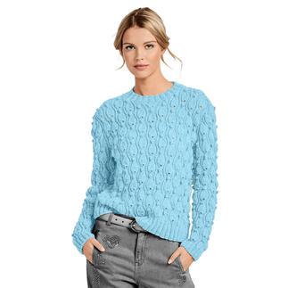 Anleitung 406/0, Pullover aus Melina von Junghans-Wolle
