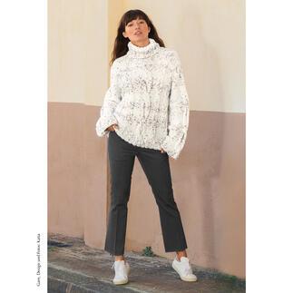 Anleitung 420/0, Pullover aus Azulejo von Katia