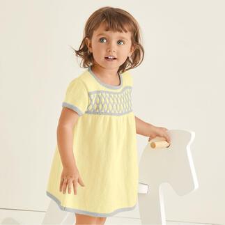 Anleitung 471/0, Kleidchen aus 100 % Baby von DMC
