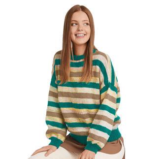 Anleitung 029/1, Pullover aus Monello-175 Color & Uni von Junghans-Wolle