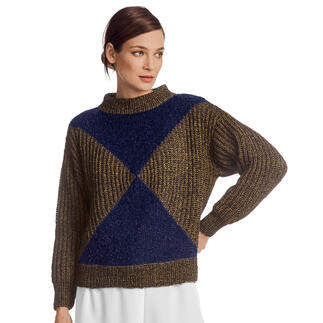 Anleitung 126/1, Pullover aus Wool-Cotton von Junghans-Wolle