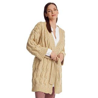 Anleitung 131/1, Jacke aus Wool-Cotton von Junghans-Wolle