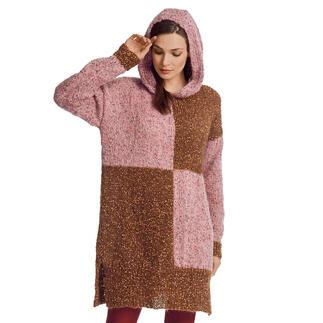 Anleitung 149/1, Pulloverkleid mit Kapuze aus Träumerei® von Junghans-Wolle