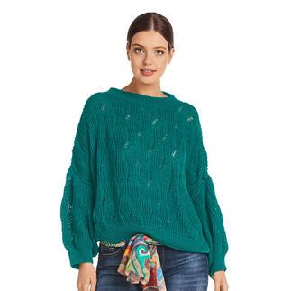 Anleitung 211/1, Pullover aus Cotton-Superfine II von Junghans-Wolle