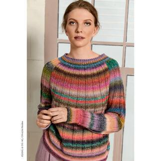 Anleitung 224/1, Pullover aus Frida von LANG Yarns
