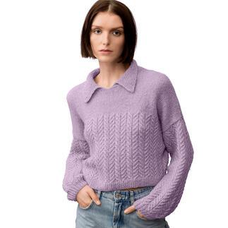 Anleitung 236/1, Pullover aus Luxury OMG von Rico Design