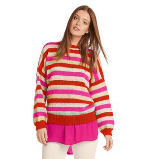 Anleitung 282/1, Pullover aus Monello-175 Color & Uni von Junghans-Wolle