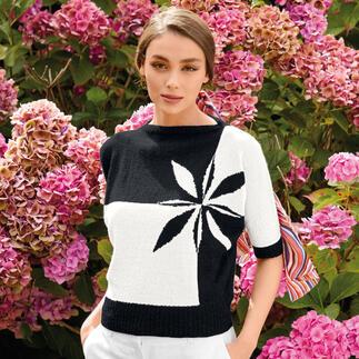 Anleitung 369/1, Pullover aus Fine Lace von Rowan