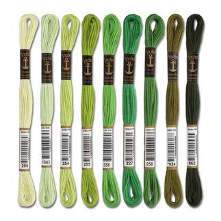 Anchor-Sticktwist Grün Sie haben eine riesige Farbauswahl. Sie werden aus hochwertiger, reiner Baumwolle nach strengen Qualitätskriterien gefertigt.