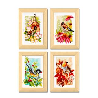 Miniaturen - Heimische Vögel