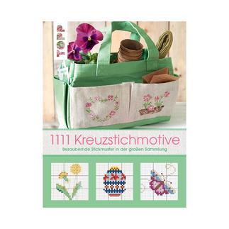 Buch - 1111 Kreuzstichmotive Stickbücher für Ihre eigenen kreativen Stickideen.