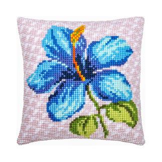 Kreuzstichkissen - Iris Farbenfrohe Wohnraumdeko – im einfachen Kreuzstich schnell gestickt.