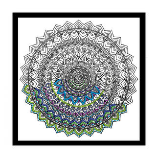Stickbild Zenbroidery - Mandala