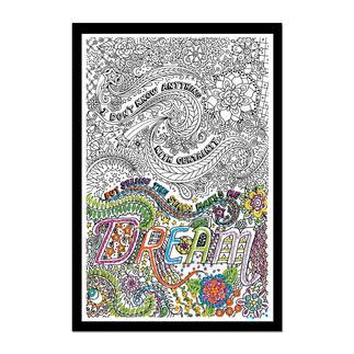 Dream, Stickbild Zenbroidery – Die Kunst des freien Stickens