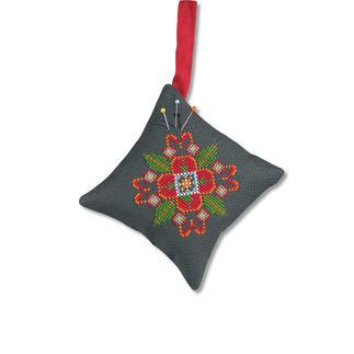 Nadelkissen in Folklore-Optik - Folklore II Easy Stitching – besonders einfache und schnelle Stick-Ideen