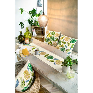 Ensemble - Palmblätter Urban Jungle – Dschungelfeeling für Ihr Zuhause