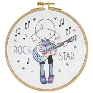 Stickbild Kids Craft - Rock Star Kids Craft – coole Stickbilder für Kinder ab 8 Jahren.