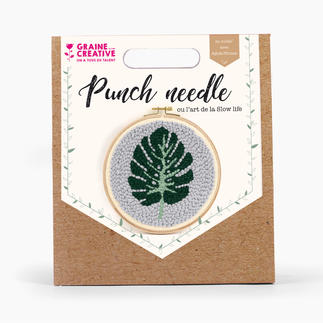 Punch-Needle-Kit - Blatt
