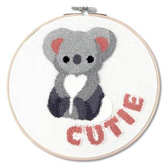 Punch-Needle-Kit - Koala Cutie