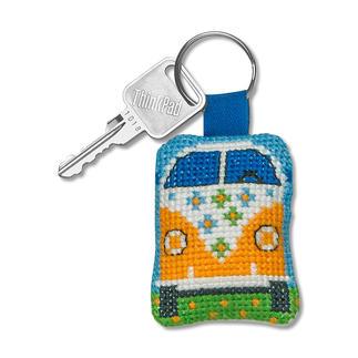 Schlüsselanhänger - Bus Easy Stitching